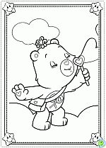 Care Bears Coloring Pages Colouring The DinoKidsorg
