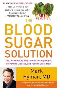 In THE BLOOD SUGAR SOLUTION, Dr. Mark Hyman reveals that the secret solution to losing weight and preventing not just diabetes but also heart disease, stroke, dementia, and cancer is balanced insulin  @ReTweetNGro