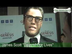 James Scott - Celebrity Interview - 2012 26th Annual Genesis Awards with Dog News Daily