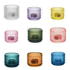 Iittala Kastehelmi tuikku  -   Iittala Dewdrop tealight / candle holder, Finnish Design