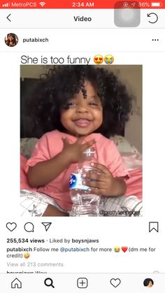 """ Hello daddy,mommy mean"" - funny photo hilarious Video Humour, Funny Video Memes, Stupid Funny Memes, Funny Relatable Memes, Funny Posts, Videos Funny, Cute Funny Babies, Funny Cute, Cute Kids"