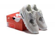 944923b0d641c4 Nike Air Max 90 Men s Running Shoes Rice White  SIM006075