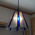 【照明】ステンドグラス、ペンダントライト,オデッセー8面体