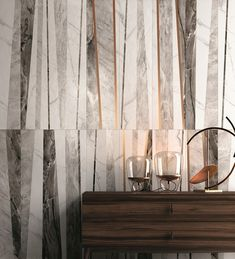 Natural, antiqued, Lux honed: a new look for marble surfaces