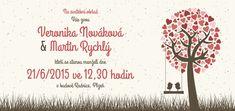Svatební oznámení DLL - O Wedding Inspiration, Wedding Ideas, Invitations, Poster, Save The Date Invitations, Invitation, Posters