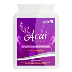 Acai, super antioxidante (ayuda en controlar el peso también)