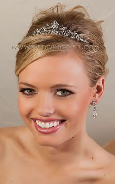 Small pointed tiara