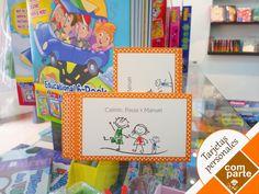 Tarjetas Personales para niño/a Escríbenos a contacto@comparte... T: (511) 358 3751