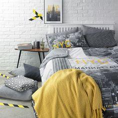 Primark Home NYC inspired bedroom set up!