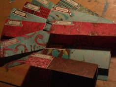 My Thrifty Friend - Living Outside the Box: diy cash envelopes system... the pretty way!