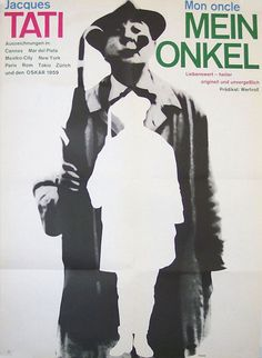 Mon Oncle (Jacques Tati, 1958) German design by Karl Oskar Blase