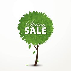 Spring Sale Vector Graphic