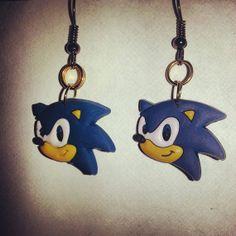 Sonic the Hedgehog Earrings