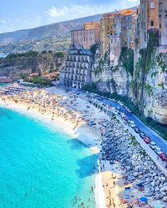 Mesmerizing beach ~ Tropea, Italy Spread the love There is a hu. Mesmerizing beach ~ Tropea, Italy Spread the love There is a hundred of the reason that Italy is on Vacation Places, Vacation Ideas, Vacation Trips, Dream Vacations, Vacation Spots, Vacation Travel, Italy Vacation, Travel Goals, Summer Travel