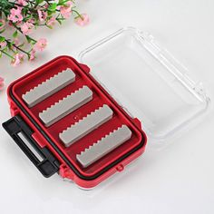 High Quality Double-sided Open Fly Fishing Box Fishing Tackle Bait Case Set - Red and Transparent-3.39 and Online Shopping   GearBest.com Mobile