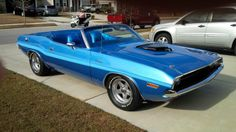 1970 Dodge Challenger Convertible 525ci Hemi