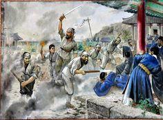 Korean peasant revolt