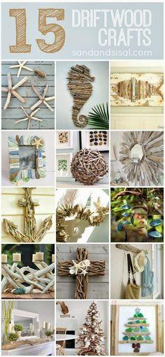 15 driftwood ideas