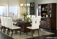 Sala de jantar decorada 71
