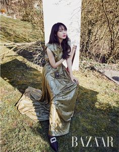 Shin Min Ah looks absolutely stunning on the cover of the April issue of Bazaar, check it out! Oh Yeon Seo, Shin Min Ah, Celebrity Photography, Kim Woo Bin, Celebs, Celebrities, Asian Woman, Photo Galleries, Korean