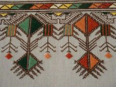 This crochet ripple afghan has Cross Stitch Embroidery, Embroidery Patterns, Hand Embroidery, Bargello, Labor, Blackwork, Bohemian Rug, Needlework, Diy And Crafts