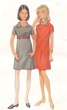 Vintage 1960s Butterick Sewing Pattern 4824 Womens by CloesCloset, $12.00