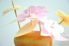Candy flowers, paperflowers, papercraft, paperart, paperflowers