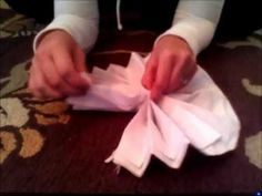 Baby Shower Ideas Decorations: DIY: Tissue Paper Poms-Poms.wmv