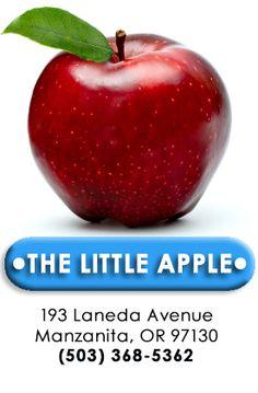 "Manzanita Market's ""Little Apple"" Logo & how Manzanita, Oregon got its name"