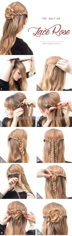 Cool and Easy DIY Hairstyles – The Half Up Lace Rose – Quick and Easy Ideas for … Cool and Easy DIY Hairstyles – The Half Up Lace Rose – Quick and Easy Ideas for Back to School Styles for Medium, Short and Long Hair – Fun Tips a .. http://www.fashionhaircuts.party/2017/06/17/cool-and-easy-diy-hairstyles-the-half-up-lace-rose-quick-and-easy-ideas-for-2/