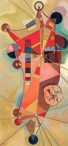 Fixed points, 1942 - Wassily Kandinsky Kandinsky, Abstract Expressionism, Art Painting, Abstract Artists, Abstract Painting, Painting, Kandinsky Art, Abstract, Abstract Painters