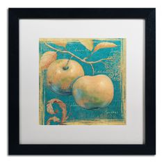 'Lovely Fruits II' by Daphne Brissonnet Framed Painting Print