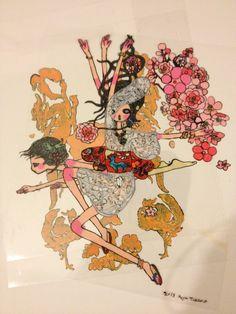 aya takano Sketchbook Inspiration, Tattoo Inspiration, Japanese Contemporary Art, Aya Takano, Illustration Art, Illustrations, Japanese Artists, Pretty Art, Miniature Dolls