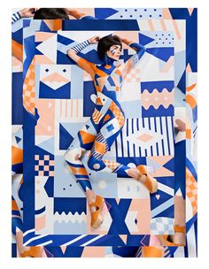 Minna Parikka & Janine Rewell   Fashion and Pattern Collaboration print pattern