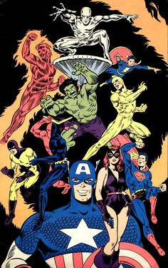 Marvel and DC by Jim Steranko