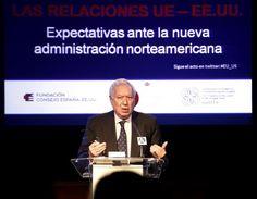 Internacional / Política exterior.  España y EEUU reclaman una UE fuerte que hable con voz única en el mundo.