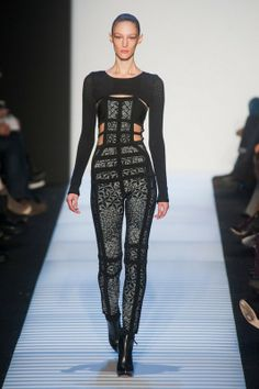 Herve Leger fall/winter 2014-15 New York