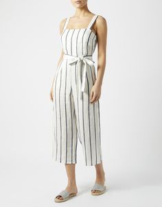 be30caef106d Earn your style stripes this season with our effortlessly chic Clara  jumpsuit. Crafted from lightweight