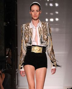 Paris Fashion Week: Balmain spring/summer 2012 in pictures - Fashion Galleries - Telegraph