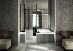 vasca da bagno combinata
