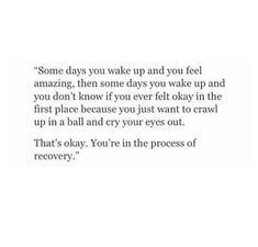 You're in recovery Now Quotes, True Quotes, Words Quotes, Wise Words, Quotes To Live By, Sayings, Citation Instagram, Story Instagram, Instagram Bio