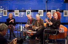 Münchner Bücherschau: Bayern 2-Live-Diwan mit Dagmar Leupold, Gert Heidenreich, Cornelia Zetzsche, Jeet Thayil und Kerstin Specht © Kerstin Dahnert  #litmuc13