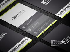 25 Free Elegant Business Card Templates with PSD