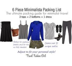 Packing List for Winter (Cold Weather) Travels Minimalist Packing List Spring 2013 - Travel Fashion GirlMinimalist Packing List Spring 2013 - Travel Fashion Girl Travel Wardrobe, Capsule Wardrobe, Travel Outfits, Preppy Wardrobe, Wardrobe Ideas, Packing List For Travel, Packing Tips, Travel Tips, Travel Ideas