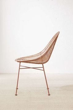 Slide View: 2: Haylee Mono Rattan Chair