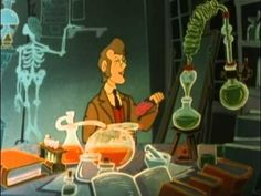 DR JEKYLL AND MR HYDE, The Animated film from 1986, courtesy of YouTube