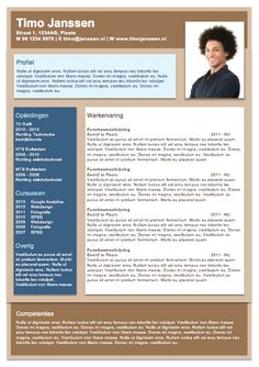 CV sjabloon MS Word Cv Template, Templates, Great Resumes, Infographic Resume, Resume Cv, Curriculum, Qoutes, How To Plan, Words