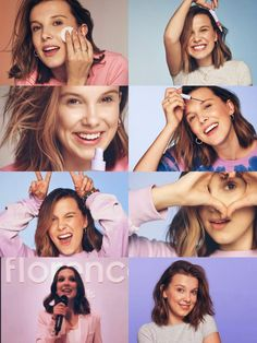 Florence by: mills💜 Danielle Panabaker, Browns Fans, Just Girl Things, Millie Bobby Brown, Look Alike, Celebs, Celebrities, Good Skin, Queen
