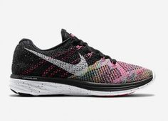 Some of our favorite cute running shoes...the Nike Flyknit Lunar 3