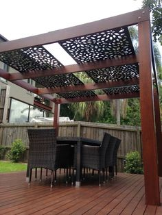 The pergola kits are the easiest and quickest way to build a garden pergola. There are lots of do it yourself pergola kits available to you so that anyone could easily put them together to construct a new structure at their backyard. White Pergola, Small Pergola, Pergola Attached To House, Deck With Pergola, Cheap Pergola, Wooden Pergola, Outdoor Pergola, Covered Pergola, Backyard Pergola